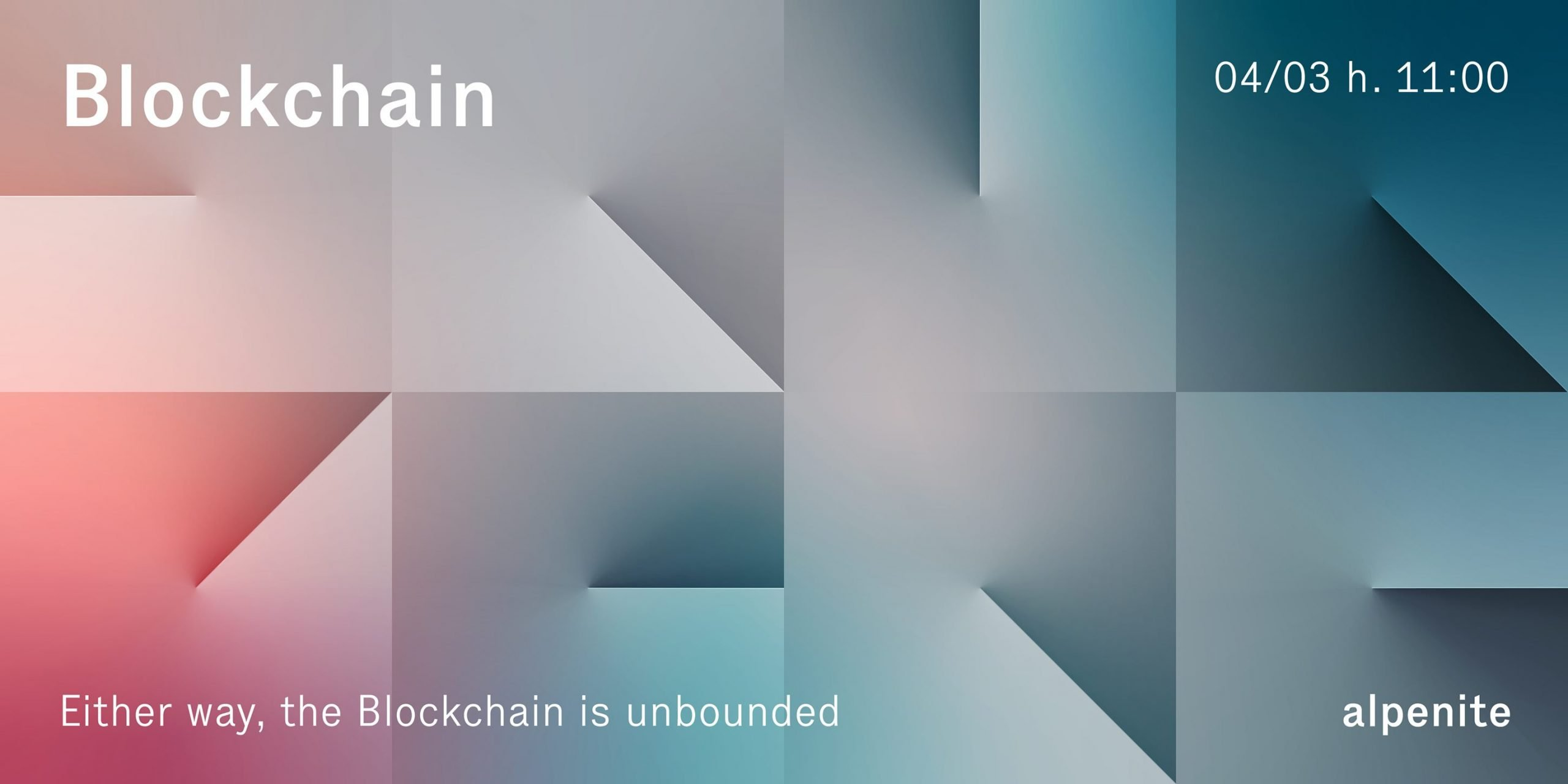 "Webinar del 4.3.2021: ""Either Way, the Blockchain is unbounded"""